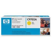 HP C9702A оригинална жълта тонер касета 121A