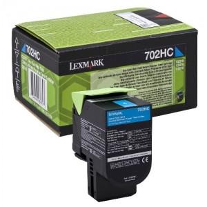 Lexmark 70C2HC0 оригинална синя тонер касета (Return Program)