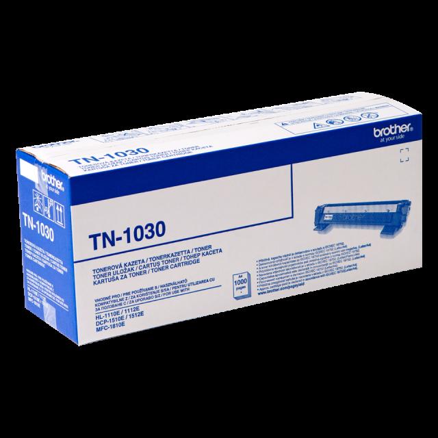 Brother TN-1030 оригинална черна тонер касета