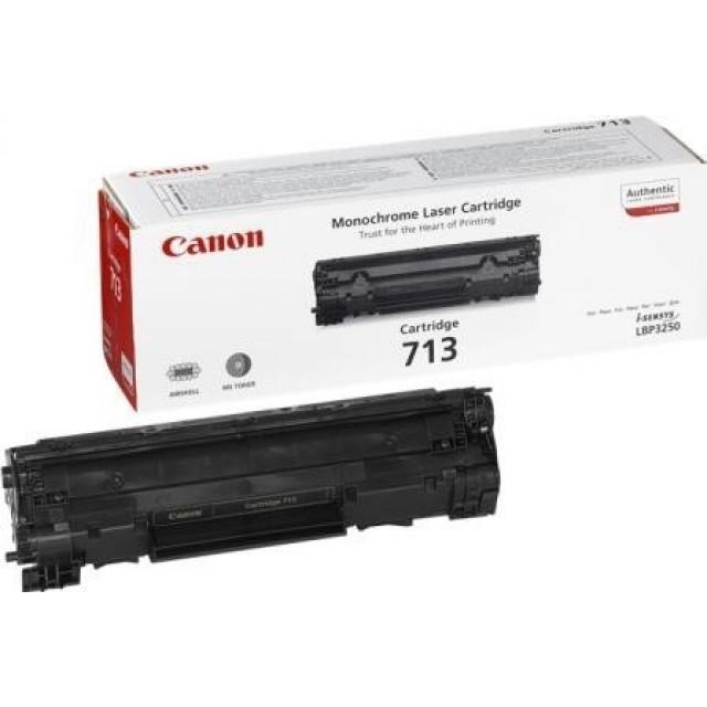 Canon CRG-713 оригинална черна тонер касета