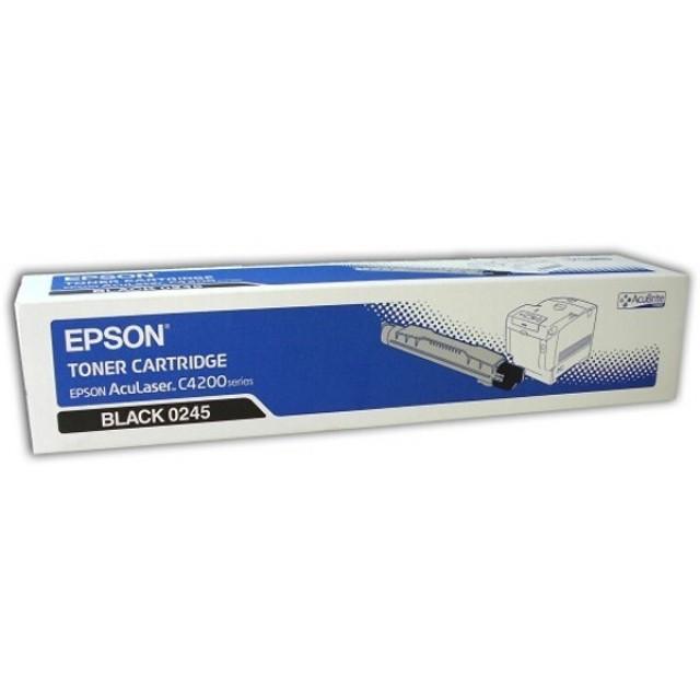 Epson C13S050245 оригинална черна тонер касета