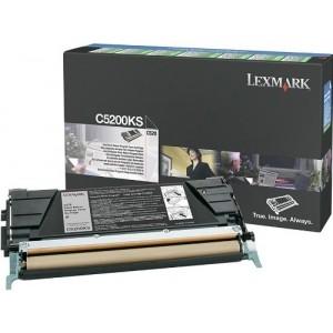 Lexmark C5200KS оригинална черна тонер касета (Return Program)