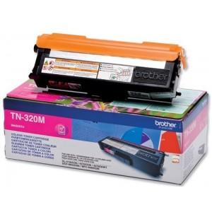 Brother TN-320M оригинална червена тонер касета