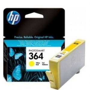HP CB320EE жълта мастилена касета 364