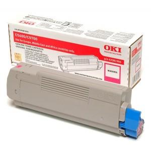 OKI 43381906 оригинална червена тонер касета за C5600/C5700