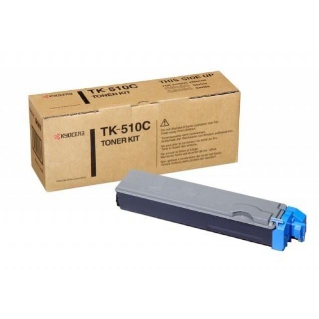 Kyocera TK-510C оригинална синя тонер касета