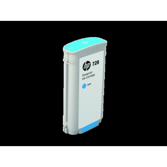 HP F9J67A синя мастилена касета 728