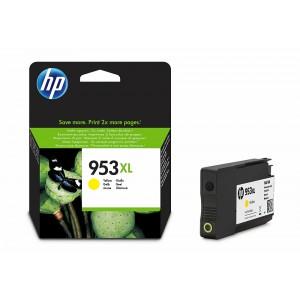 HP F6U18AE жълта мастилена касета 953XL