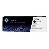 HP CF283AD двоен пакет черни тонер касети 83A