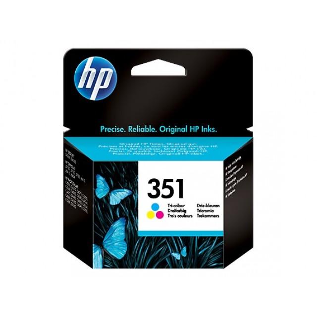 HP CB337EE трицветна мастилена касета 351