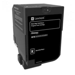 Lexmark 74C20K0 оригинална черна тонер касета (Return Program)