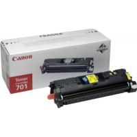 Canon EP-701Y оригинална жълта тонер касета
