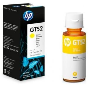 HP GT52 жълто мастило бутилка