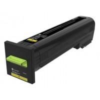 Lexmark 72K2XY0 оригинална жълта тонер касета (Return Program)