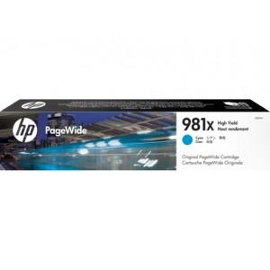 HP L0R09A синя мастилена касета 981X