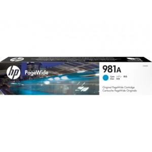 HP J3M68A синя мастилена касета 981A
