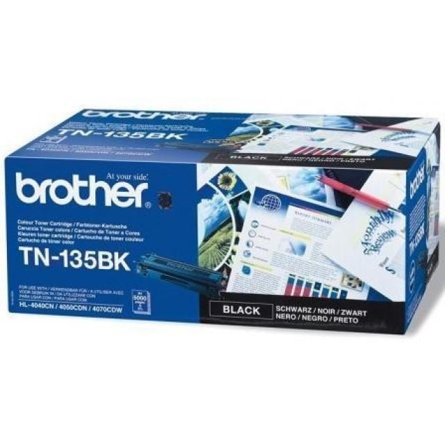 Brother TN-135BK оригинална черна тонер касета