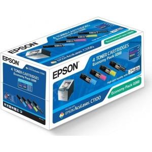 Epson C13S050268 комплект CMYK оригинални тонер касети