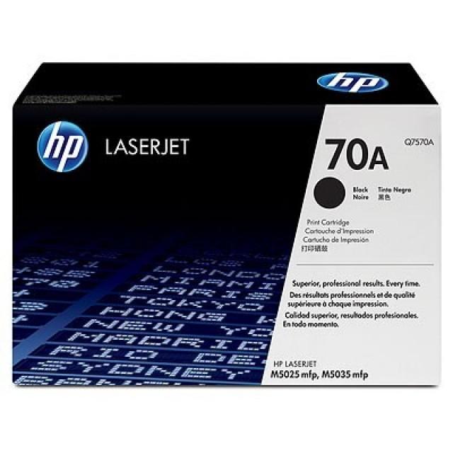 HP Q7570A оригинална черна тонер касета 70A