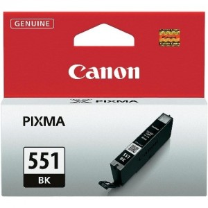 Canon CLI-551BK черна мастилена касета