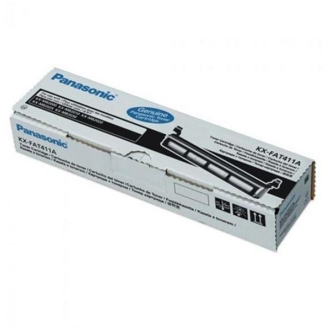 Panasonic KX-FAT411 оригинална черна тонер касета