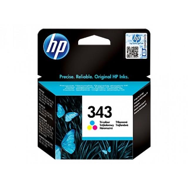HP C8766EE трицветна мастилена касета 343
