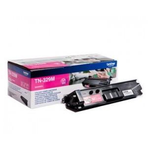 Brother TN-329M оригинална червена тонер касета
