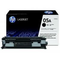 HP CE505A оригинална черна тонер касета 05A