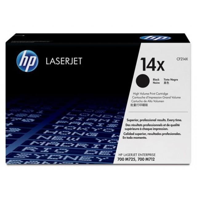 HP CF214X оригинална черна тонер касета 14X