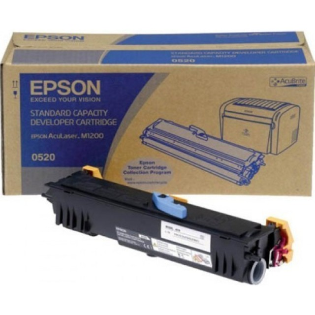 Epson C13S050520 оригинална черна тонер касета