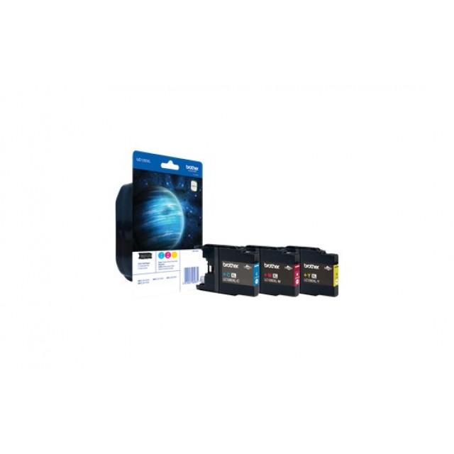 Brother LC-1280XL комплект CMY мастилени касети