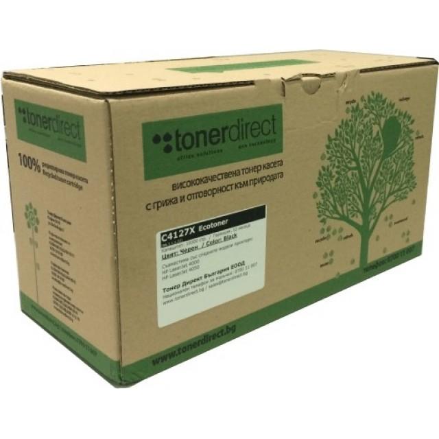 Ecotoner OKI 43865708 черна касета за C5650/C5750 за 8000 стр.