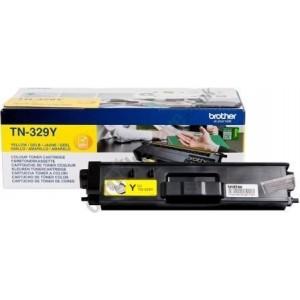 Brother TN-329Y оригинална жълта тонер касета