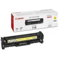 Canon CRG-718Y оригинална жълта тонер касета