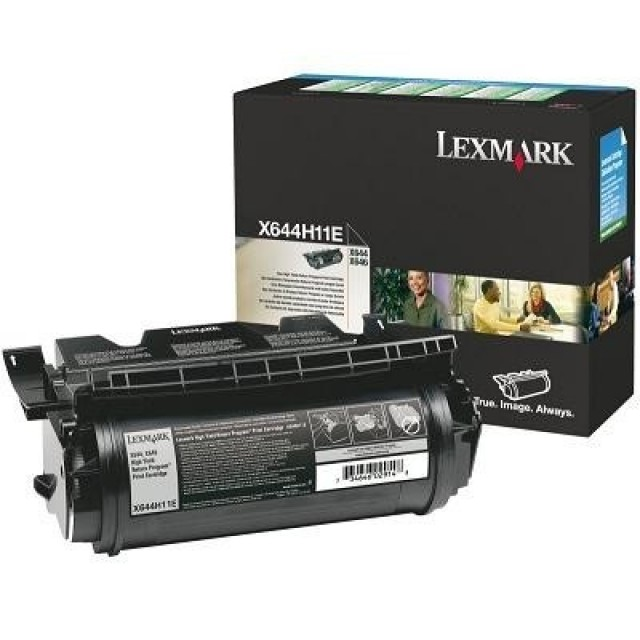 Lexmark X644H11E оригинална черна тонер касета (Return Program)