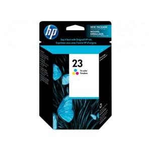 HP C1823D трицветна мастилена касета 23