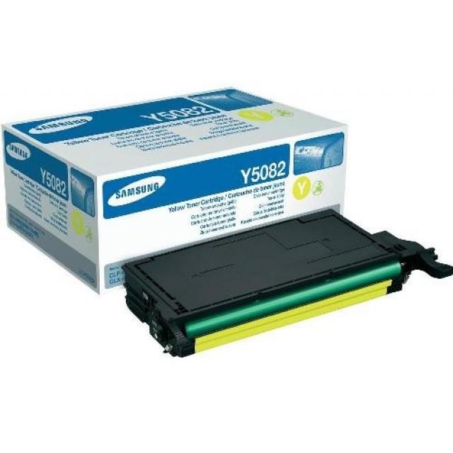 Samsung CLT-Y5082S оригинална жълта тонер касета