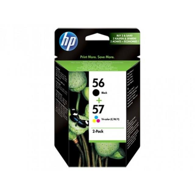HP SA342AE черна и трицветна мастилени касети 56/57