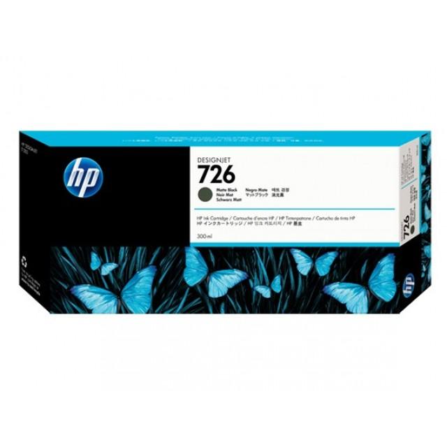 HP CH575A черен мат мастилена касета 726