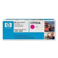 HP C9703A оригинална червена тонер касета 121A