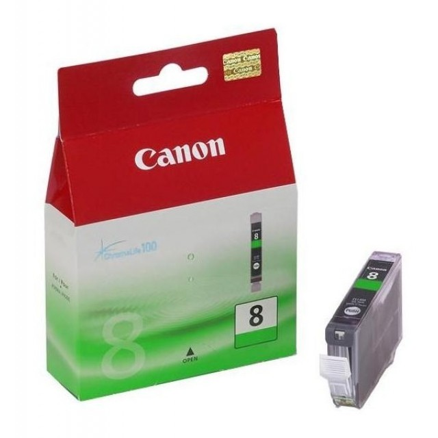 Canon CLI-8G зелена мастилена касета