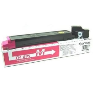 Kyocera TK-895M оригинална червена тонер касета
