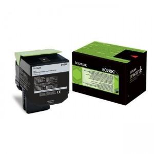Lexmark 80C2XK0 оригинална черна тонер касета (Return Program)