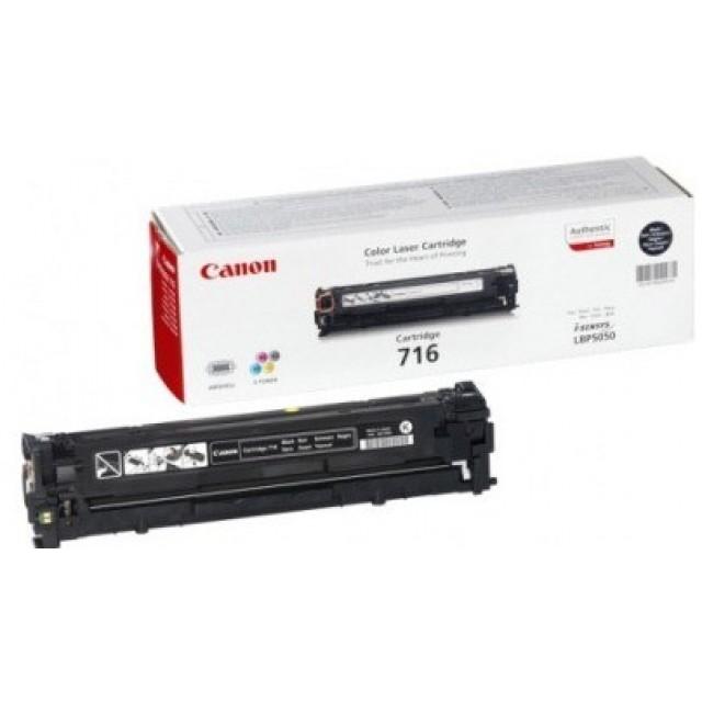 Canon CRG-716B оригинална черна тонер касета