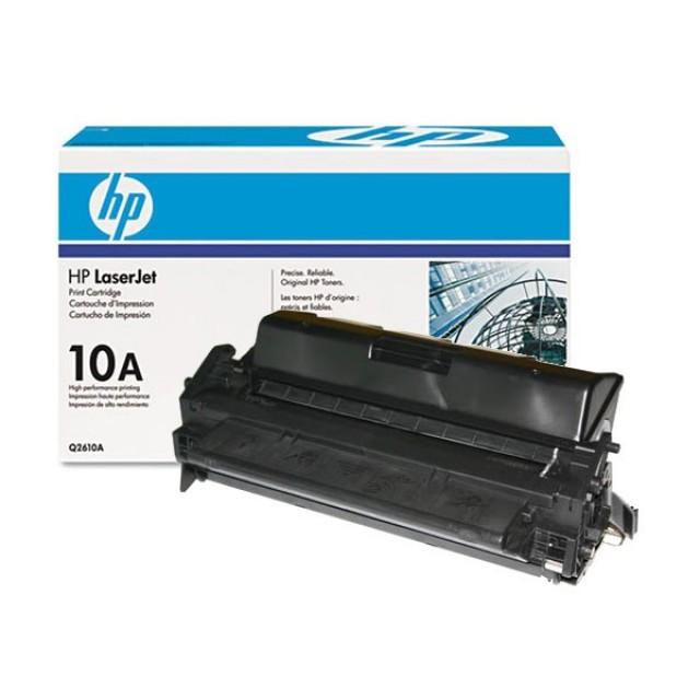 HP Q2610A оригинална черна тонер касета 10A