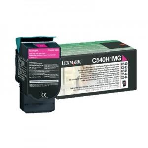 Lexmark C540H1MG оригинална червена тонер касета (Return Program)