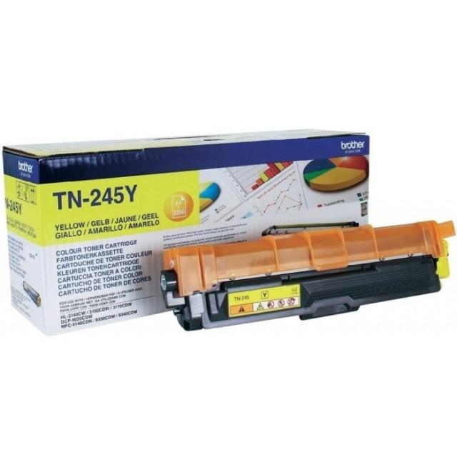 Brother TN-245Y оригинална жълта тонер касета