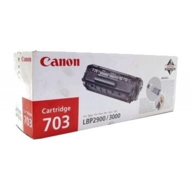 Canon CRG-703 оригинална черна тонер касета