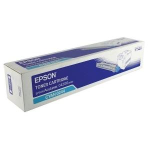 Epson C13S050244 оригинална синя тонер касета