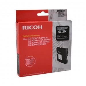Ricoh GC21BLK черна мастилена касета 405532
